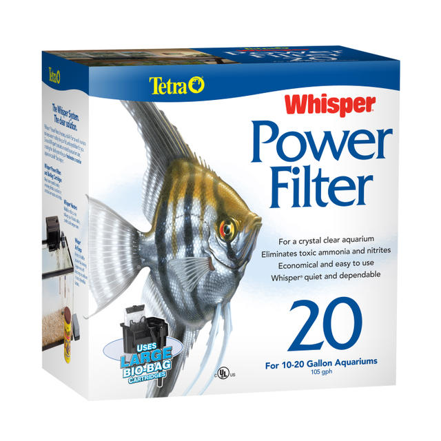 Whisper® Aquarium and Fish Tank Power Filters