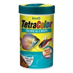 TetraColor Tropical Fish Food Crisps